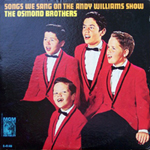 Songs We Sang On The Andy Williams Show - Front