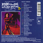 Joseph And The Amazing Technicolor Dreamcoat (Back)