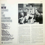 New Sound of The Osmond Brothers - Back