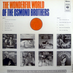 Wonderful World of The Osmond Brothers (Back)